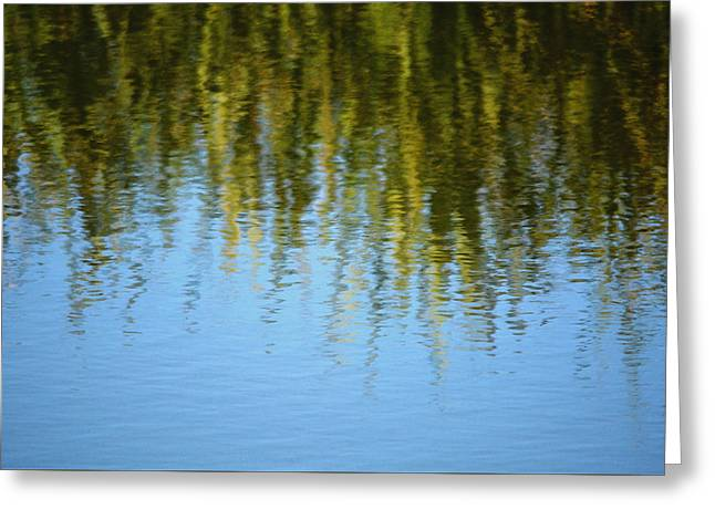 Blue Green Wave Greeting Cards - Good Times Greeting Card by Richard Andrews