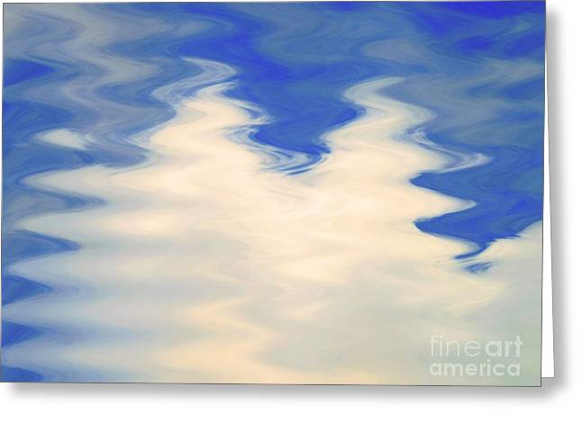 Nature Abstracts Greeting Cards - Good Vibrations Greeting Card by Robyn King