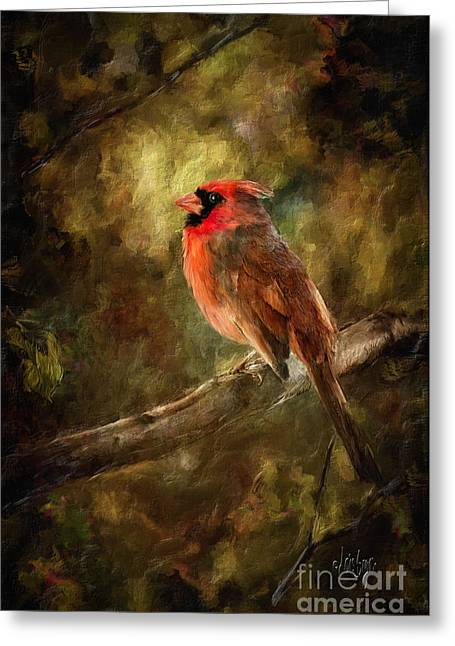 Nature Greeting Cards - Goodbye Mr. Pip Greeting Card by Lois Bryan