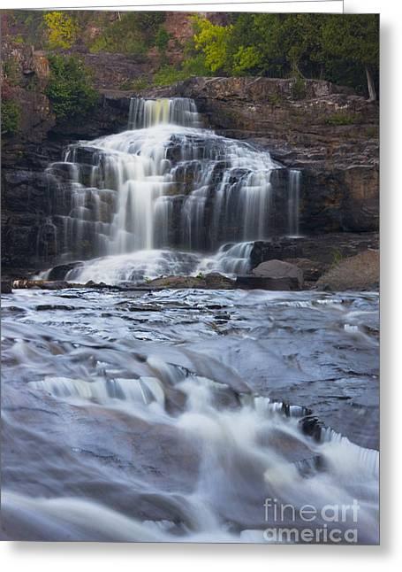 Gooseberry Falls North Shore Minnesota Greeting Card by Wayne Moran