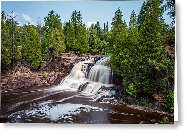 Work Area Greeting Cards - Gooseberry Falls Greeting Card by Paul Freidlund