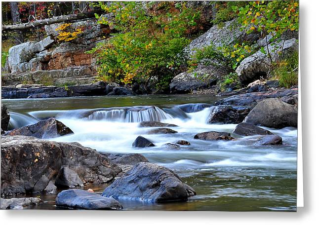 Rockbridge County Greeting Cards - Goshen Pass Greeting Card by Todd Hostetter