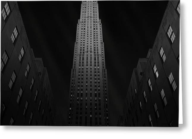 Gotham City Photographs Greeting Cards - Gotham Greeting Card by Ben Rea