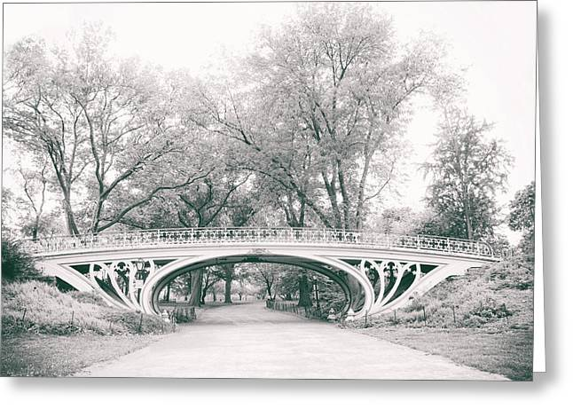 Gothic Digital Greeting Cards - Gothic Bridge Nostalgia Greeting Card by Jessica Jenney