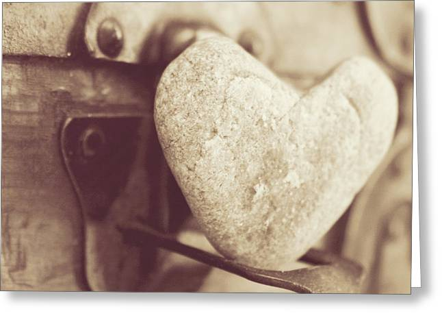 Heart Rocks Greeting Cards - Gotta Have Heart Greeting Card by Toni Hopper