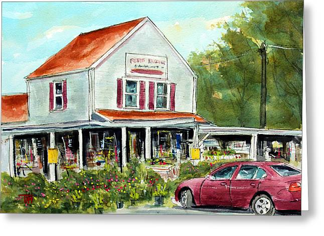 Franklin Tennessee Greeting Cards - Gotta Run to Reeds Greeting Card by Tim Ross