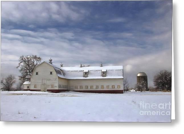 Governor Kerr Scott Farm Greeting Card by Benanne Stiens