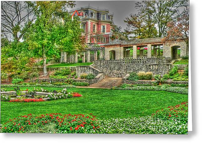 Jefferson Greeting Cards - Governors Home Greeting Card by David Bearden