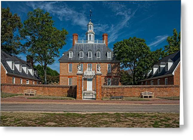 Christopher Holmes Greeting Cards - Governors Palace Greeting Card by Christopher Holmes