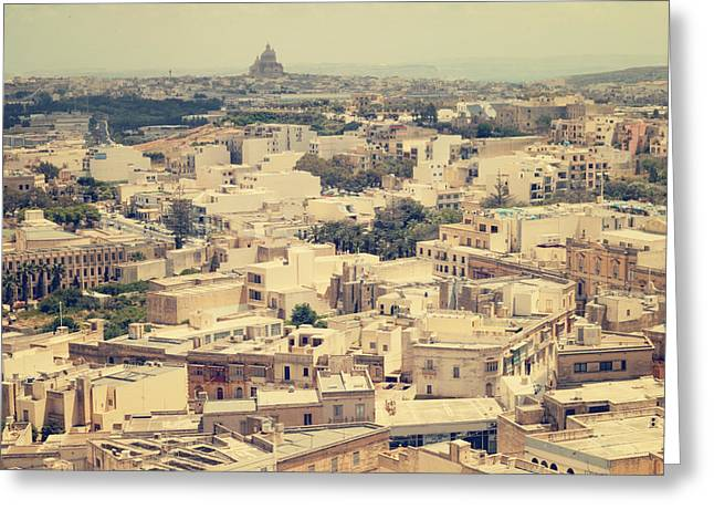 Gozo Greeting Card by Cambion Art