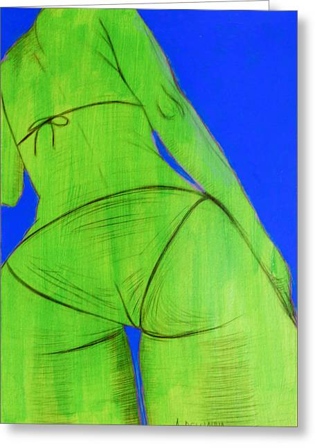 Bella Donna Greeting Cards - Grace Greeting Card by Alberto Dell
