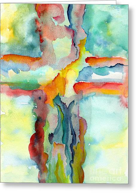 Glory Honor Greeting Cards - Grace Greeting Card by Ruth Borges