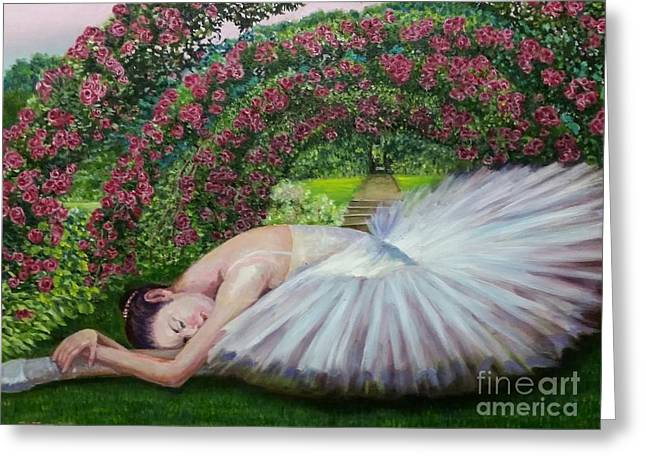Landscape Framed Prints Greeting Cards - Grace upon Grace Greeting Card by Siewsuan Teh