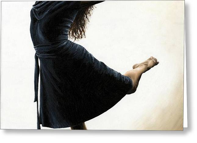 Graceful Enlightenment Greeting Card by Richard Young