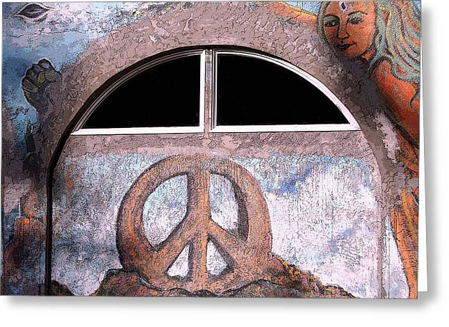 Intuitive Greeting Cards - Graffiti 4 Greeting Card by Holly Ethan