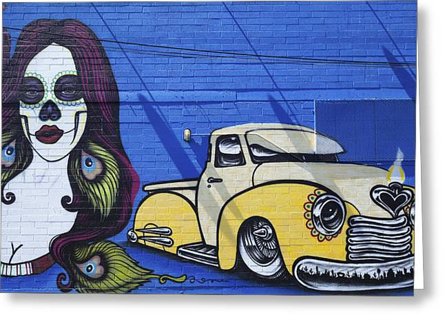 Exposure Greeting Cards - Graffiti 599 Greeting Card by Fred Newman