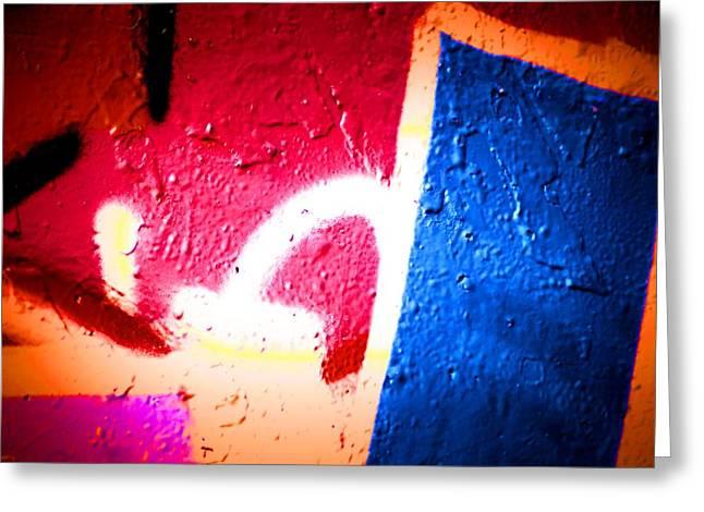 Intrigue Greeting Cards - Graffiti Art 58 Greeting Card by Cindy Nunn