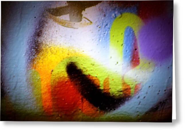 Intrigue Greeting Cards - Graffiti Art 60 Greeting Card by Cindy Nunn