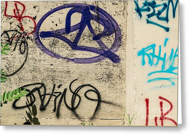 Abstract Style Greeting Cards - Graffiti Art NYC 28 Greeting Card by Anakin13