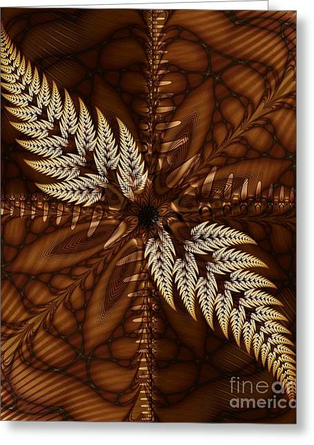 Michelle Greeting Cards - Grain Harvest Greeting Card by Michelle H