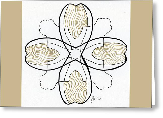 Grain Greeting Card by Lori Kingston