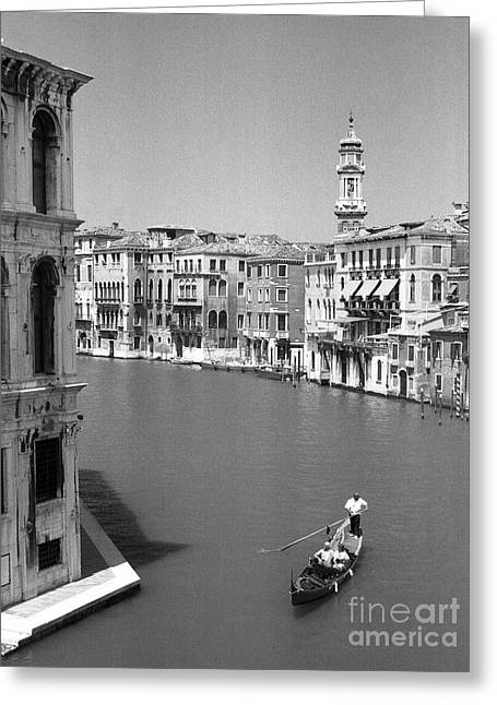 Gran Canal Greeting Cards - Gran Canal Greeting Card by Chris Jurgenson