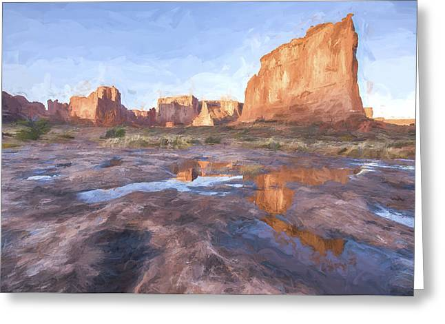 Grand Arches IIi Greeting Card by Jon Glaser