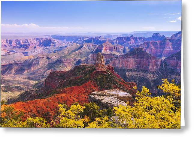 American West Greeting Cards - Grand Arizona Greeting Card by Chad Dutson