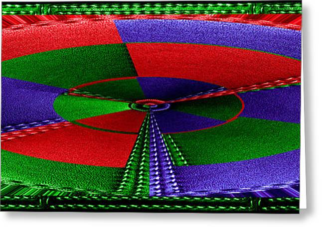 Abstract Movement Greeting Cards - Grand Canvas Leather Stiitch Border n Carpet look Texture Interior WallArt Decoration Greeting Card by Navin Joshi