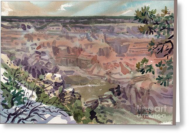 Grand Canyon 08 Greeting Card by Donald Maier