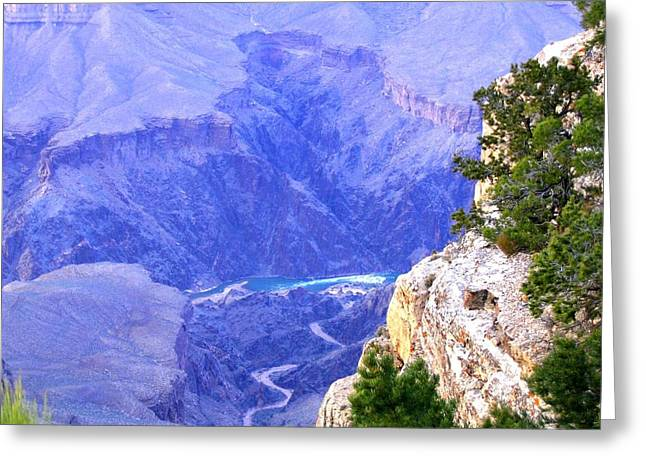 Intrigue Greeting Cards - Grand Canyon 86 Greeting Card by Will Borden