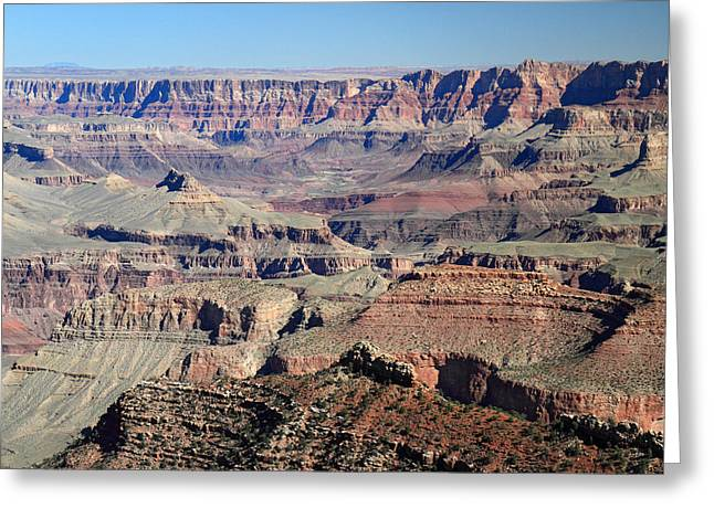 The Grand Canyon Greeting Cards - Grand Canyon colors Greeting Card by Pierre Leclerc Photography