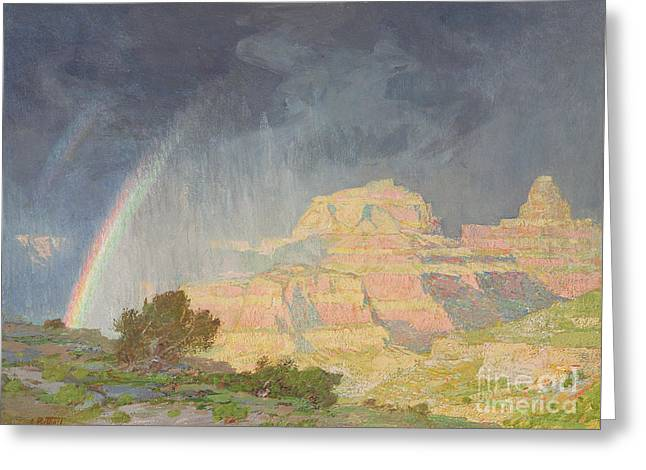 Grand Canyon Greeting Card by Edward Henry Potthast