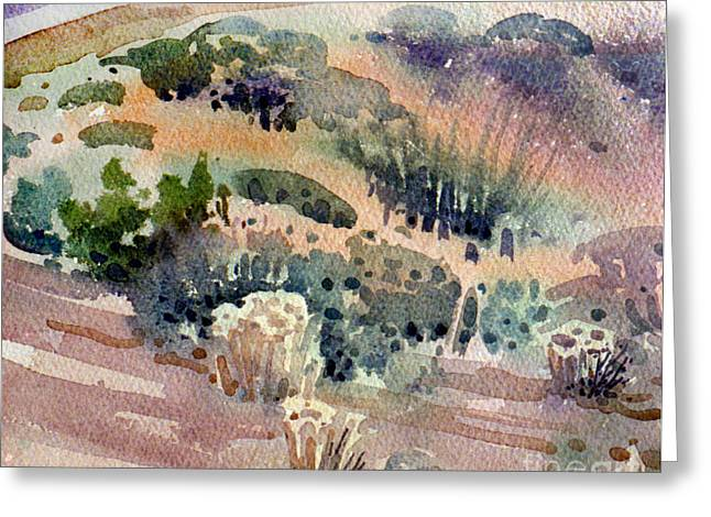 Ground Cover Greeting Cards - Grand Canyon Flora Study 77 Greeting Card by Donald Maier
