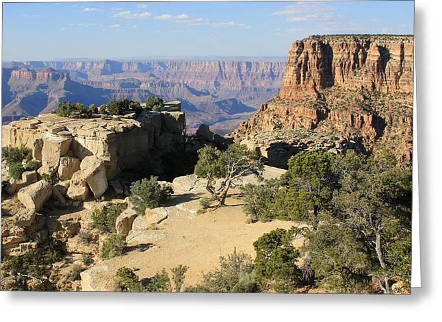 Periphery Greeting Cards - Grand Canyon Landscape Greeting Card by Paul Lamonica