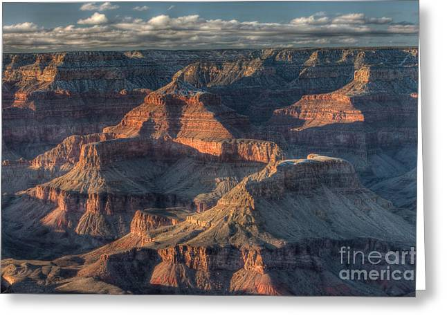 Isis Greeting Cards - Grand Canyon Mather Point I Greeting Card by Clarence Holmes