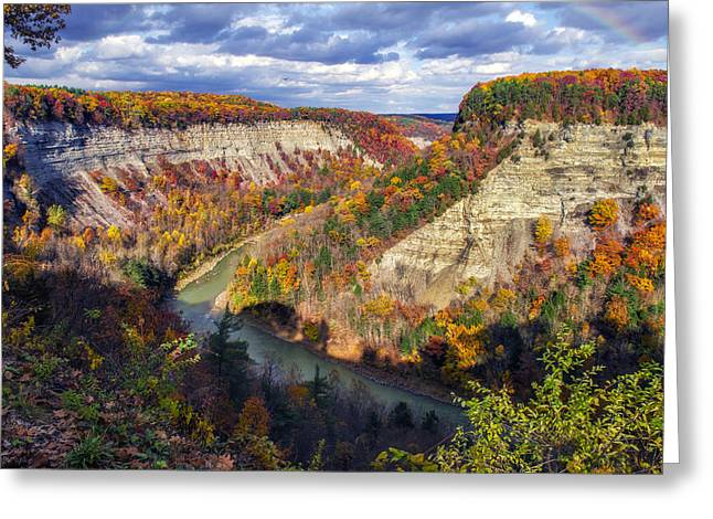 The Hills Greeting Cards - Grand Canyon Of The East Greeting Card by Mark Papke