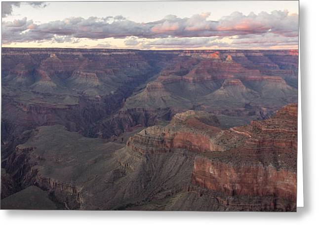 Grand Canyon Sunset Mather Point Greeting Card by Stephanie McDowell