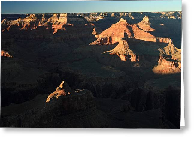 The Grand Canyon Greeting Cards - Grand Canyon Sunset Greeting Card by Pierre Leclerc Photography