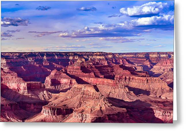 Grand Cayon Greeting Cards - Grand Canyons Mather Point Greeting Card by Abhay P