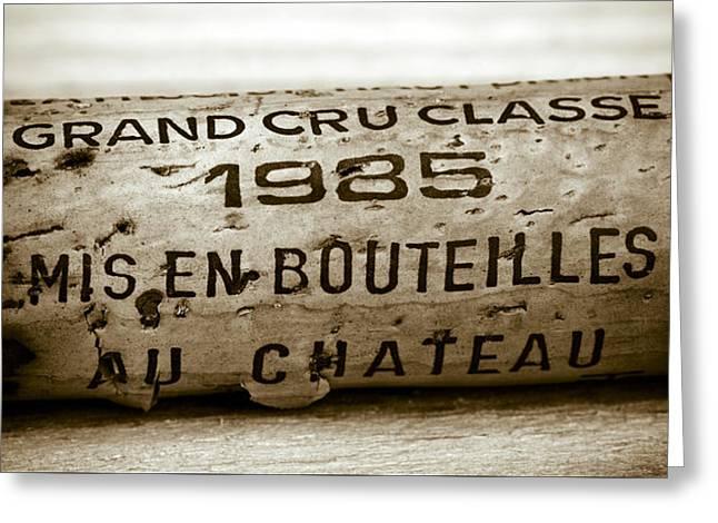 Grand Cru Classe 1985 Greeting Card by Frank Tschakert