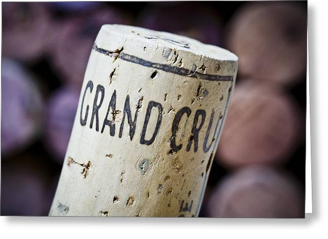 Grand Cru Greeting Card by Frank Tschakert