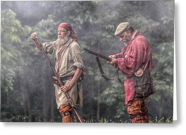 Art Book Greeting Cards - Grand Encampment Rangers Greeting Card by Randy Steele