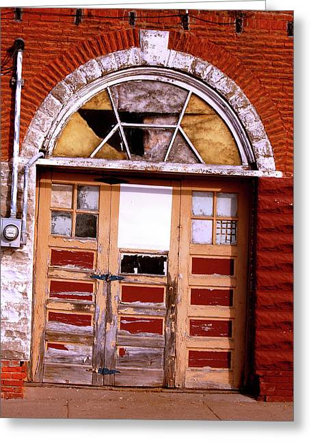 Grand Entrance Greeting Card by Jame Hayes