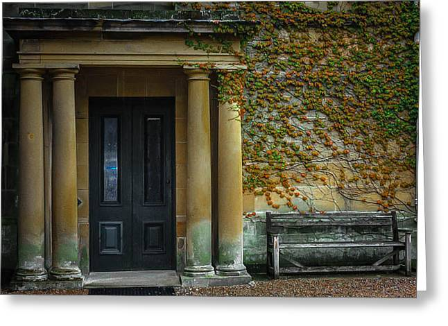 Grand Entrance Greeting Card by Linda Foakes