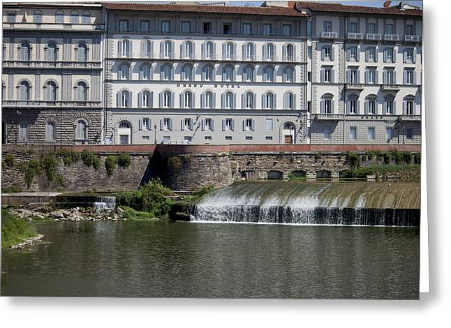 Grand Hotel Greeting Card by Ivete Basso Photography