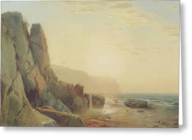 Grand Manan Greeting Card by William Hart