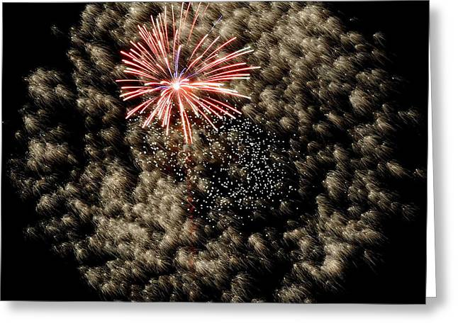 4th July Greeting Cards - Grand Mix 4934 Greeting Card by Ken DePue
