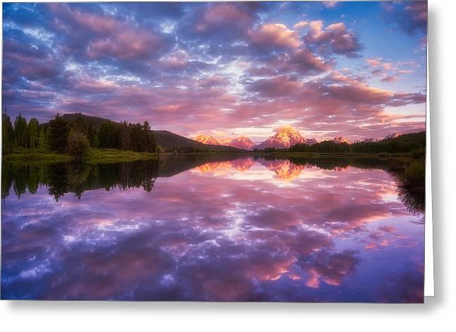 Grand Sunrise Greeting Card by Darren  White