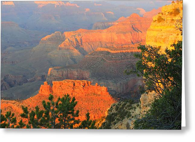 Periphery Greeting Cards - Grand Sunset Greeting Card by Paul Lamonica